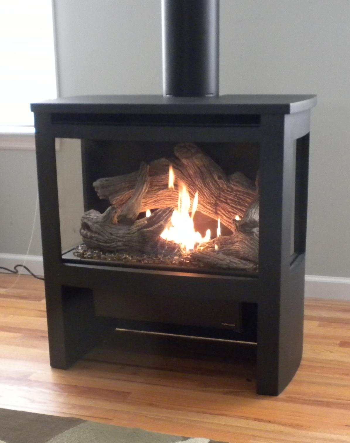 Gas Stove Installation Ground To Crown Chimney Fireplace Services